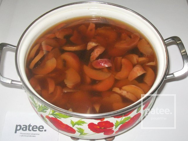 Как сварить компот из сухих яблок