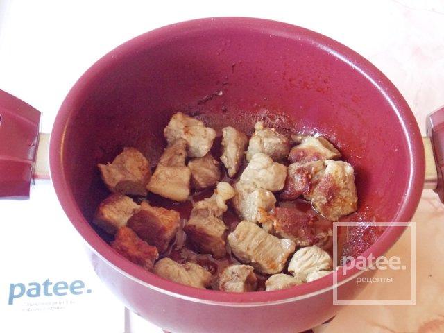 Свинина в медово-горчичном соусе