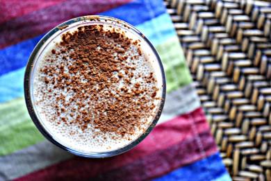Рецепт Бананово-шоколадное молоко