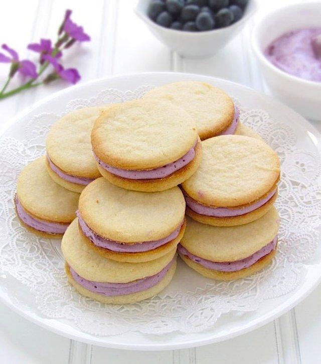Печенье с начинкрй рецепт