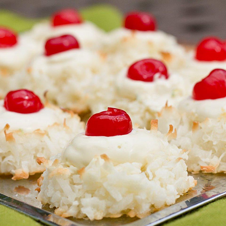 Миндальное печенье с лаймовой начинкой