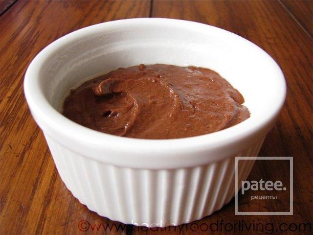 Кекс без какао с шоколадом