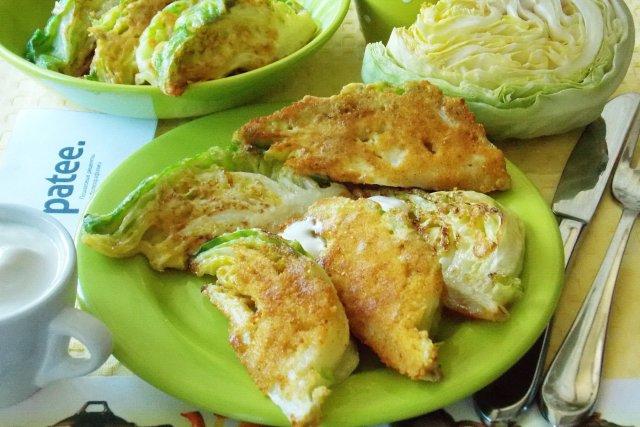 шницель из капусты рецепт с фото