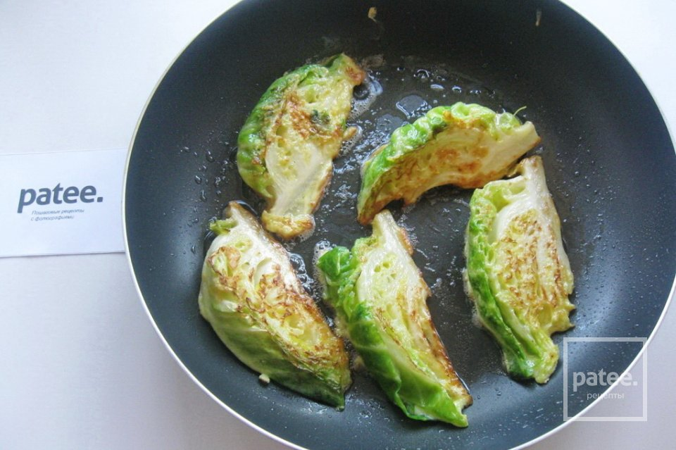 Шницель из капусты