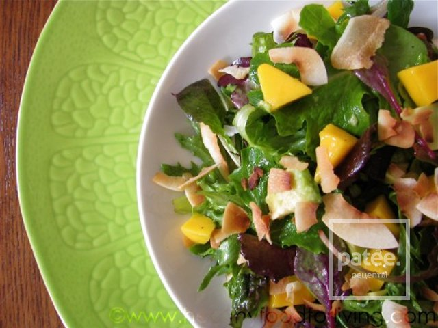 салаты с манго с фото