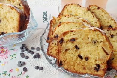 Рецепт Кекс с шоколадом и яблоками