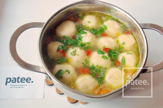 манный суп рецепт фото