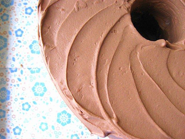 Шоколадный крем для тортов