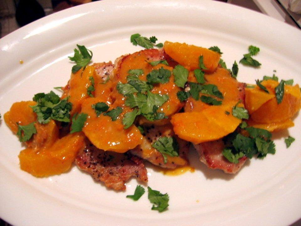 Свиные отбивные с апельсиновым соусом, пошаговый рецепт с фото