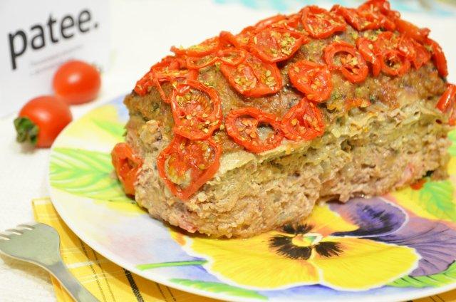 Мясной хлебец с помидорами Деликатесный