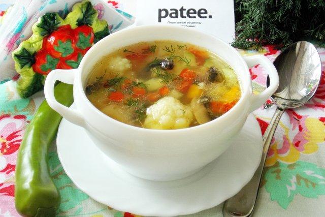 суп без калорий рецепт