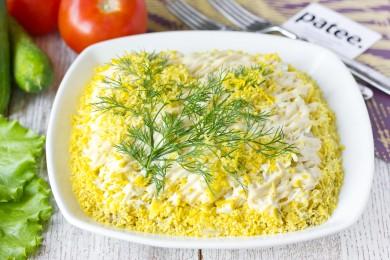салат мимоза рецепт 80 десятых