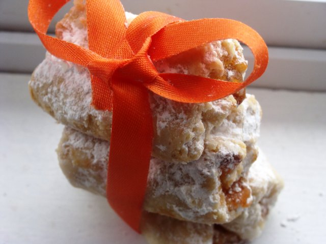 Печенье с абрикосовым джемом