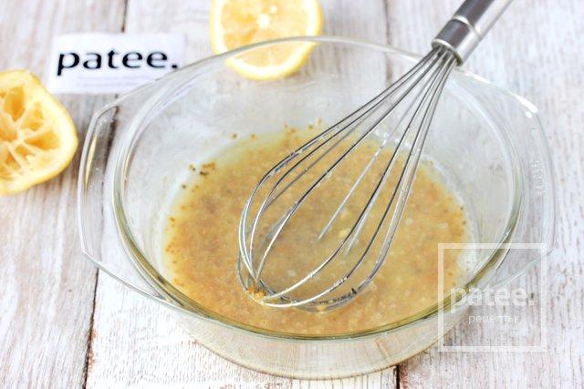 Шампиньоны в медово-горчичном маринаде