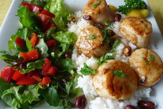 Блюда из гребешка рецепты с фото