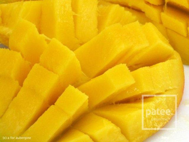 Миндально-манговое молоко