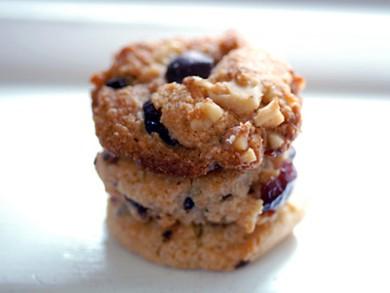 Рецепт Печенье с клюквой, орехами и шоколадом