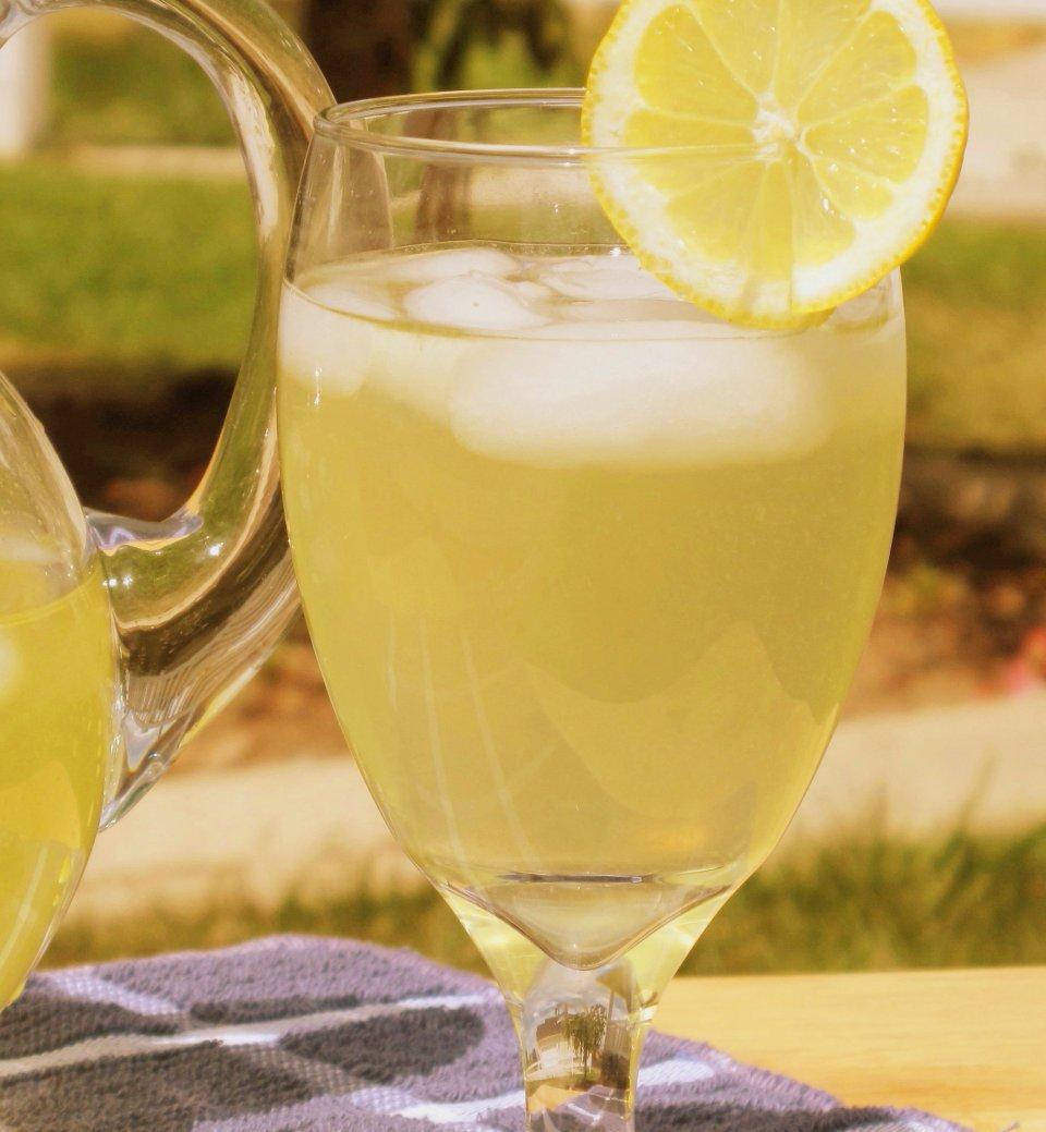 Лимонно-имбирный лимонад