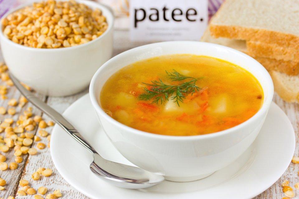 Суп гороховый с ветчиной