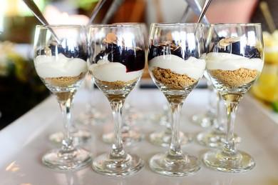 Рецепт Вишневый чизкейк в бокалах