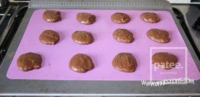 Шоколадное печенье-сэндвичи