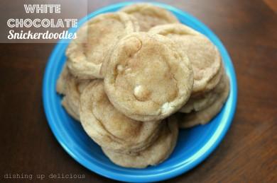 Рецепт Печенье сникердудль с белым шоколадом