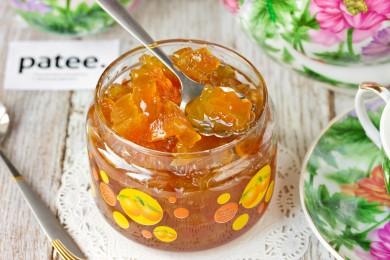Рецепт Янтарное варенье из арбузных корочек