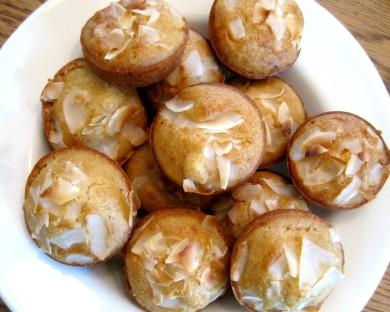 Рецепт Ананасово-кокосовые кексы