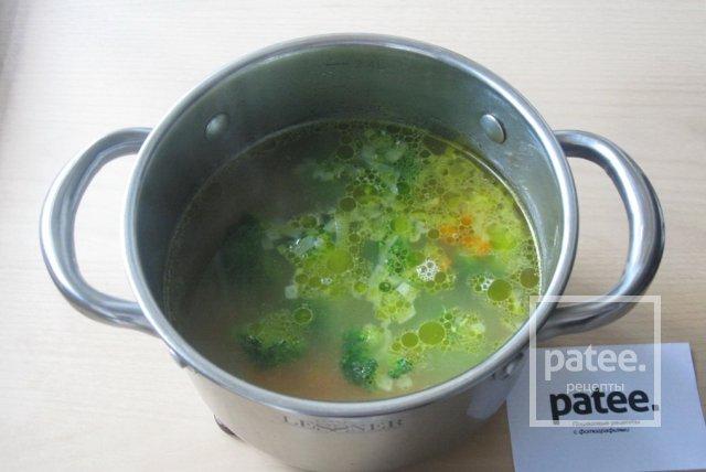 Суп с яичными блинчиками