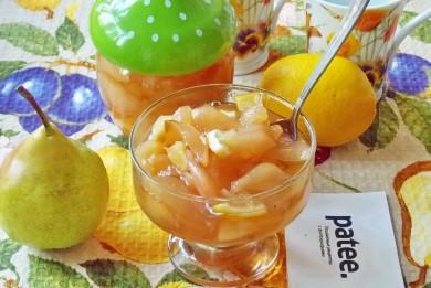 Рецепт Варенье из груш с лимоном