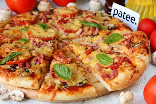 пицца сыр с ветчиной рецепт