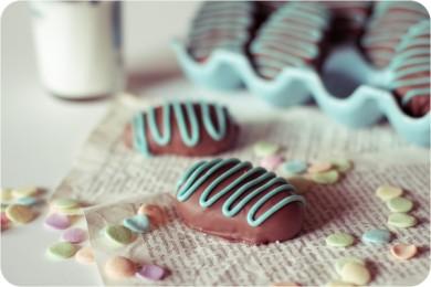 Рецепт Шоколадно-арахисовые яички