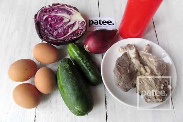 Расчет калорийность готовых блюд по рецептам