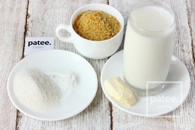 молочная каша из булгура