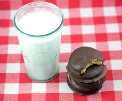 Рецепт Арахисовое печенье Палео в шоколаде