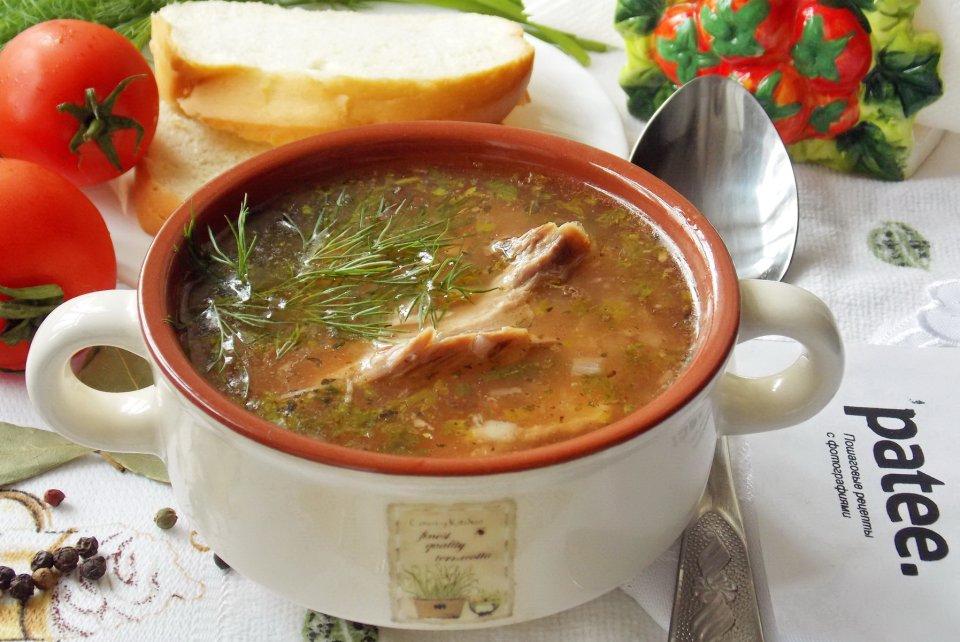 Суп с индейкой - пошаговый рецепт с фото | 642x960