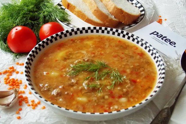 супы рецепты с фото с фаршем