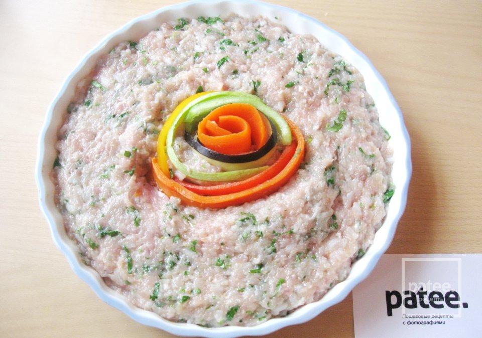 Мясо-овощная запеканка Яркая
