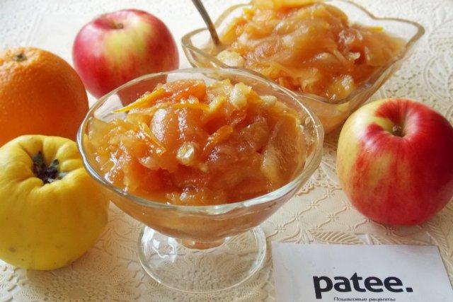рецепты варенья ассорти с яблоками