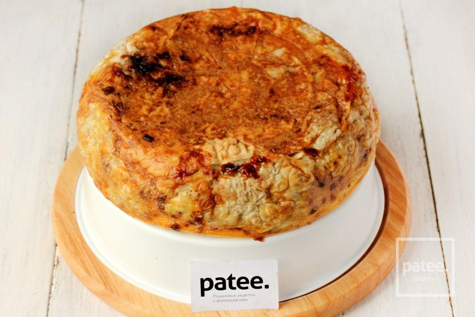 Мясной пирог Ленивец в мультиварке