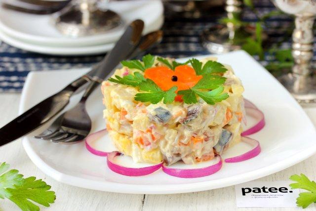 Блюда из соленой скумбрии рецепты