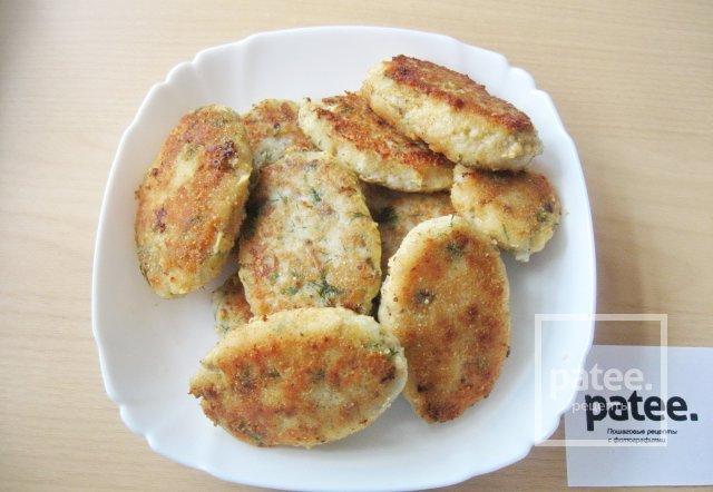 рецепт рыбных котлет из фарша хека