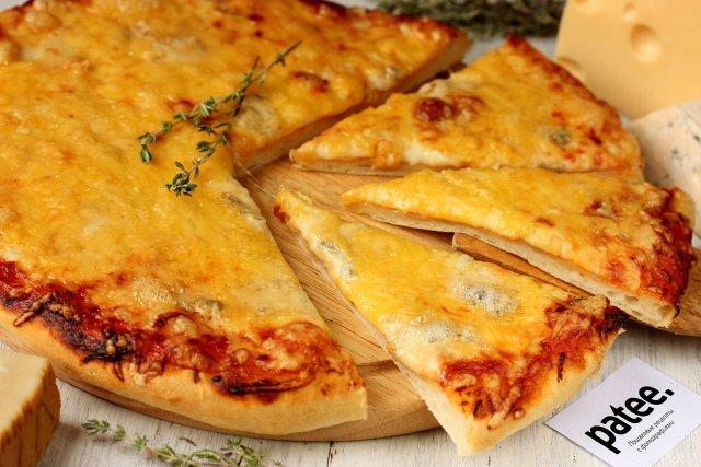 Пицца 4 сыра рецепт
