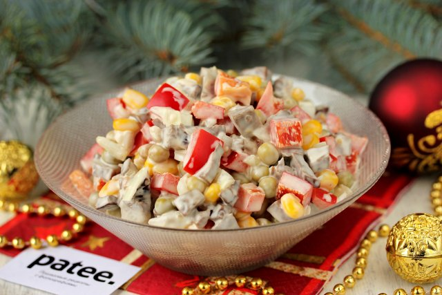 Рецепт - салат из свиного сердца - пошаговое фото 70