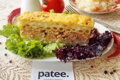 Рецепт Запеканка Пастицио