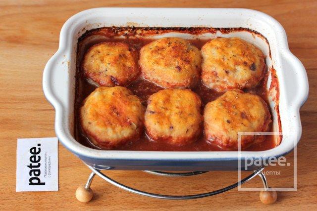 Биточки из щуки в томатном соусе