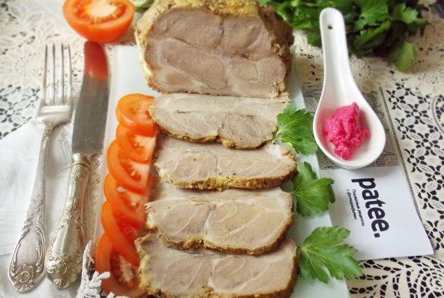 Буженина из мяса в духовке рецепты 104