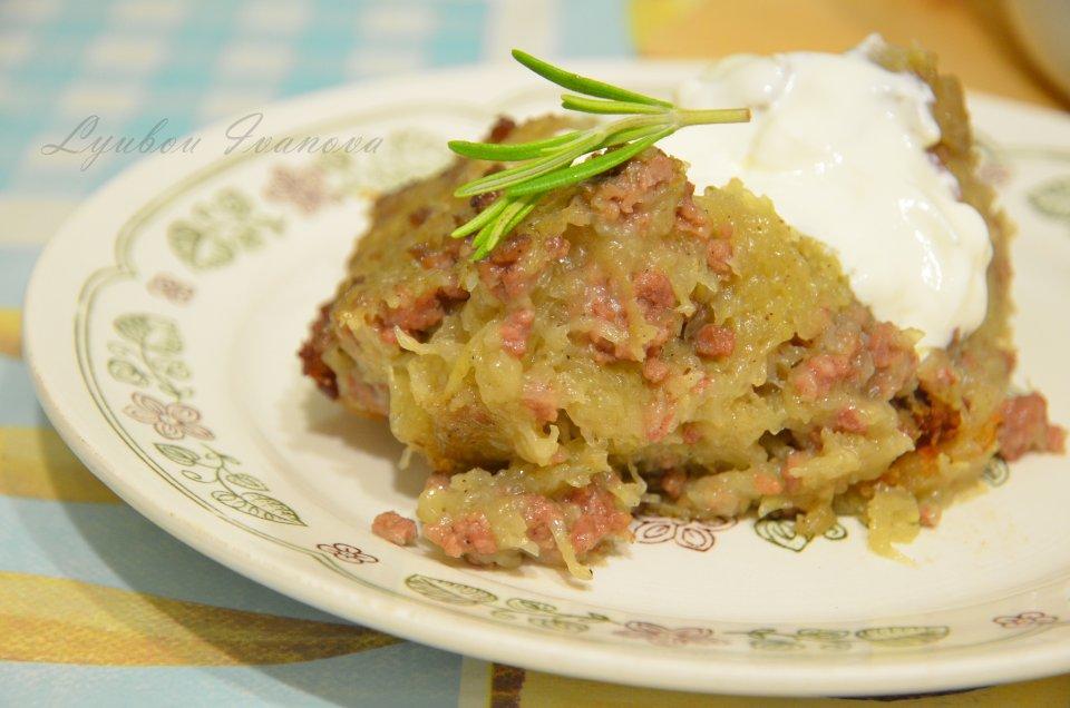 Белорусская картофельная бабка