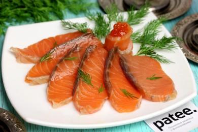 Рецепт Солёно-копчёная сёмга