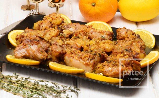 Свиные ребрышки шашлык рецепт с лимоном — photo 5